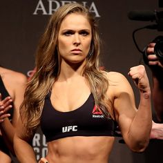 We Are Obsessed With Ronda Rousey's Response to Body Shamers: Ronda Rousey is the badass UFC champion who KO'd her opponent, Bethe Correia, in a mere 34 seconds, and Ronda continues to rack up points with us across the board.