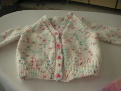 Knitting Galore: Easy Baby Cardigan