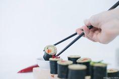 Herzkuchen: Sushi aus Couscous - Cushi