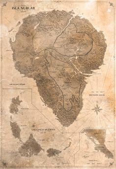 Jurassic Park Map