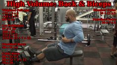 Back & Biceps workout: http://youtu.be/L7F90QjQyBA  Lots of Weighted Pull-ups, Lat Pulldowns and Rows. #Dumbbell #Rows #LatPulldowns #Biceps #BackTraining #BigBack #Pullups #Chins #Hypertrophy