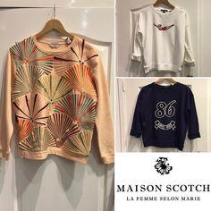 Leuke #Sweats van #MaisonScotch #JEANSENLIFESTYLE #TIEL #HOUTEN