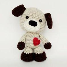 Sammy the Puppy amigurumi pattern by Smartapple Creations. $4.70