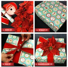 Add pizzazz to #holiday #gifts with #Christmas picks
