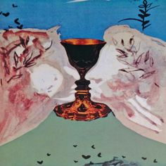 Ace of Cups by Salvador Dali