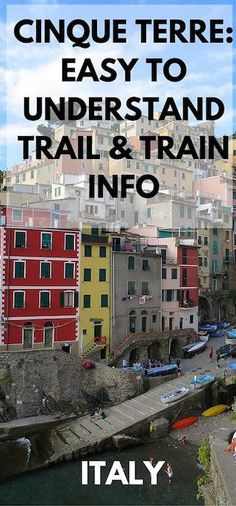 Cinque Terre Trail and Train Passes