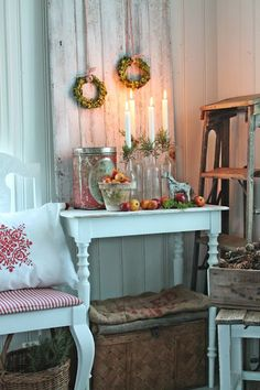 Christmas rustic decor by VIBEKE DESIGN