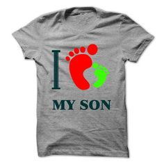 I LOVE MY SON T Shirts, Hoodies. Get it now ==► https://www.sunfrog.com/LifeStyle/I-LOVE-MY-SON-49688453-Guys.html?57074 $19
