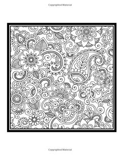 Paisley Coloring Book Vol. 2: Amazon.de: Penny Farthing Graphics: Fremdsprachige Bücher