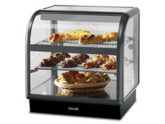 Lincat Seal 650 Range Curved Front Ambient Merchandiser Self Service 750mm