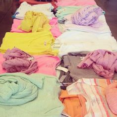 Summer t-shirting in fun colours at MUSE!