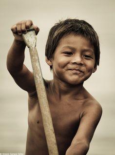 Amazonas native, Brazil
