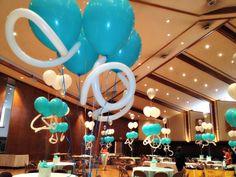 Chandelier Balloons - www.idealpartydecorators.com