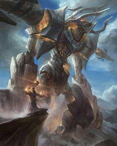 Art by Chi huei Chen. Dark Fantasy Art, Fantasy Artwork, Fantasy World, Fantasy Creatures, Mythical Creatures, Epic Art, Fantasy Character Design, Creature Concept, Monster Art