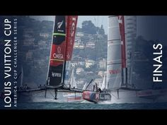 News: Emirates Team New Zealand survives nosedive, wins first race of Louis Vuitton Cup Final - YouTube