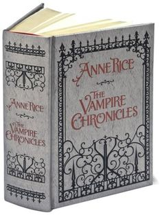 The Vampire Chronicles: Interview with a Vampire, The Vampire Lestat, and The Queen of the Damned (Barnes & Noble Leatherbound Classics Series) I bought this. Can't have an Anne Rice Vampire collection without this fab book! I Love Books, Books To Read, My Books, Anne Rice Vampire Chronicles, Queen Of The Damned, Vampire Books, Vampire Series, Vampire Pics, Interview With The Vampire