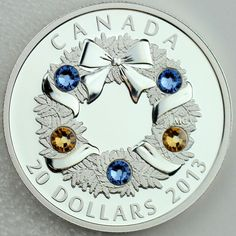 """Item specifics Seller Notes: """"Guaranteed authentic, with serial numbered Certificate of Authenticity issued by the Royal Canadian Mint. New, in original Mint packaging. Real photos of real, in-stock coins — not just stock artwork from the Mint. Numismatic Coins, Canadian Coins, Show Me The Money, Proof Coins, Canadian Artists, Coin Collecting, Holiday Wreaths, Monet, Precious Metals"""