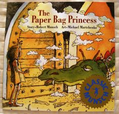 """""""Ronald,"""" said Elizabeth, """"your clothes are really pretty and your hair is all neat. You look like a real prince, but you are a bum."""" Now, with spunky lines like these, how can this title be boring? :) Here's sharing our review of The Paper Bag Princess!"""