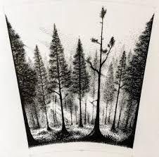 Картинки по запросу forest tattoo drawing
