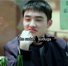 Memes Indonesia Exo Ideas For 2019 Memes Funny Faces, Funny Kpop Memes, Cute Memes, D O Exo, K Meme, Cartoon Jokes, Meme Comics, Relationship Memes, Derp