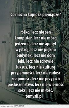 Stylowi.pl - Odkrywaj, kolekcjonuj, kupuj Cool Typography, Happy Photos, Motto, Haha, Family Games, Believe In You, Personal Development, Quotations, Texts