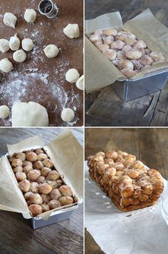 Super Easy Gluten Free Monkey Bread - Step by Step