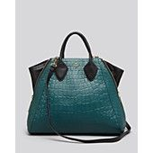 Pour La Victoire Tote - Yves Croc Embossed - Beautiful bag for fall!!!