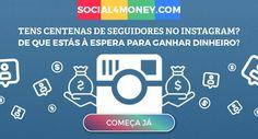 Tu ouviste-nos bem. A Social4Money não só te ajuda a procurar novas formas de ganhar dinheiro pelas tuas redes sociais. Nós trazemos-te as melhores ofertas que irão valorizar o teu tempo e o teu dinheiro.