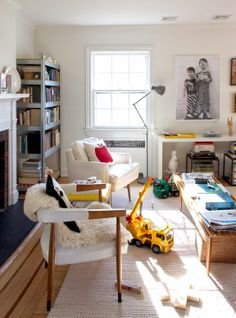 New Jersey house tour via @Joanna Goddard, featuring our Rope Rug.