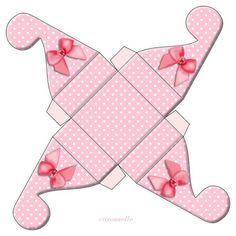 Boîte à petits présents rose