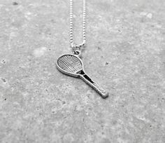 Tennis Necklace Sterling Silver by GirlBurkeStudios on Etsy, $27.00