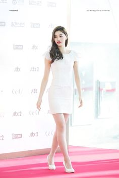 Girly Outfits, White Outfits, Kpop Girl Groups, Kpop Girls, Asian Girl, Korean Girl, Korean Outfit Street Styles, Kim Doyeon, Young Fashion