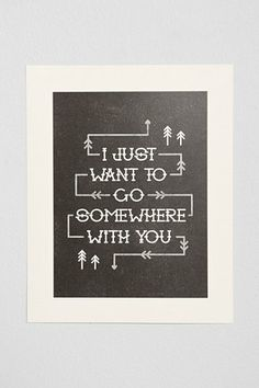 Alisa Bobzien Somewhere With You Art Print
