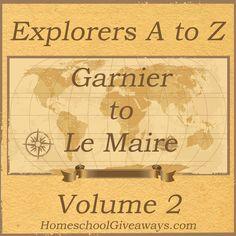 History of Explorers. FREE Printable.