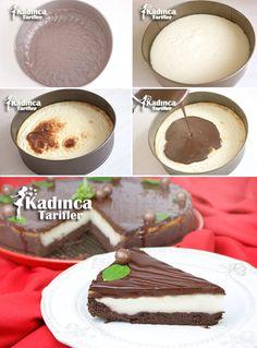 Çikolatalı Muhallebili Tart Tarifi