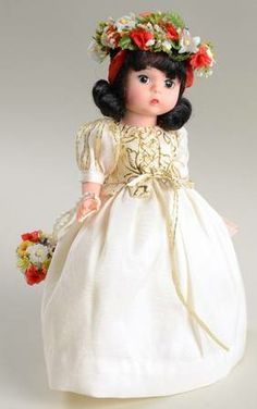 snow white's wedding ~ madame alexander dolls