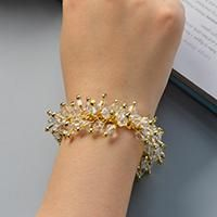 Love pearl beads bracelets? Here I will bring a fresh pearl bracelet with you all, now let's check it~