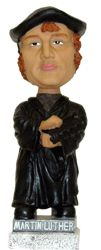 Martin Luther Bobble Head Doll at oldlutheran.com
