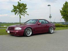 #r129 #mercedesbenz #mercedes #convertible #rims #schulz_rims #11j #sl500 #amg…