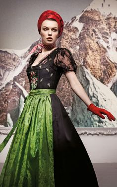 Sportalm Dirndl Couture Fashion Trachtenmode Tracht