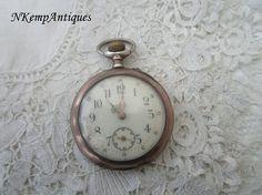 Antique silver pocket watch 1900 restoration project