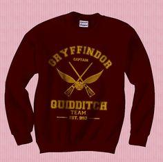 Gryffindor Quidditch Team Sweatshirt: Captain!