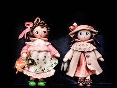 Pinu'art | Bamboline | Creazioni d'arte in pasta di sale, pasta di mais, terracotta.