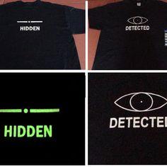 Skyrim glow in the dark hidden/detected by JeffsScreenPrints