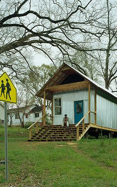 For years, students at Auburn University's Rural Studio have been building cheap houses for impoverished locals. Now their designs are going mass market. Auburn University, Rural Studio, House Studio, Alabama, Tiny Home Cost, Save For House, Studio Build, Safe Room, Cheap Houses