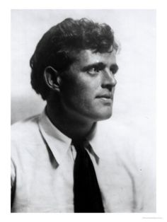 Portrait de Jack London by Arnold Genthe, 1906-16