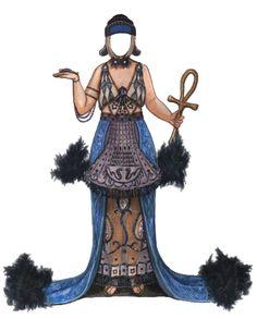 Theda Bara as Cleopatra paper doll by Brenda Sneathen Mattox - Nena bonecas de papel - Picasa webbalbum