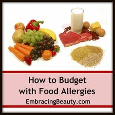 How to Budget with Food Allergies