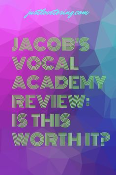 Have you heard about Jacob's Vocal Academy? If you have the burning desire to step up your singing process, you'll want to find out about him down below. #JustLovetoSing #JacobVocalAcademy #Singing #Vocals #Blog #OnlineCourse I Can Tell, Told You So, Singing Lessons Online, Popular Youtubers, James Madison University, Vocal Coach, Text Overlay, Online Courses, The Voice