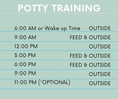 Potty Train Your Puppy in 10 Days - DOGTIC Puppy Schedule, Puppy Training Schedule, Training Your Puppy, Potty Training Puppies, Yorkie Poo Puppies, Mini Schnauzer Puppies, Dachshund Puppies, Goldendoodles, Cavapoo